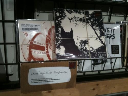 Album cover design for Aly Spaltro & TJ Metcalfe split - Kris Johnsen 2010