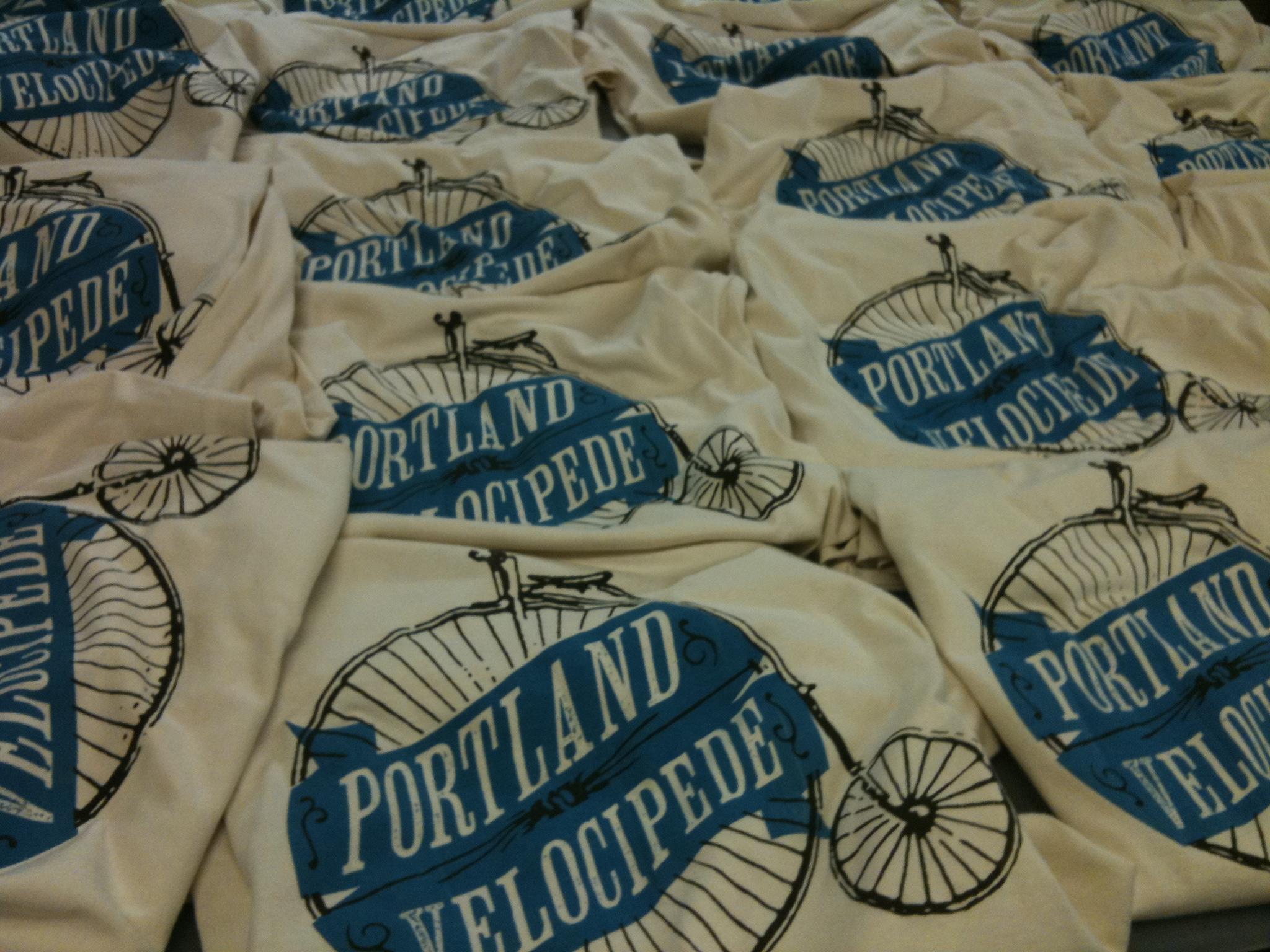 Bicycle kris johnsen art blog for T shirt printing in portland oregon