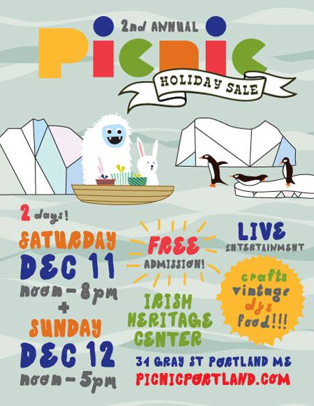 Holiday sales this december kris johnsen art blog for Holiday craft fairs portland oregon