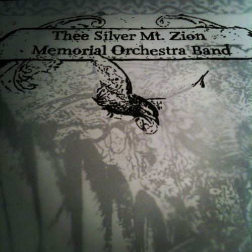 Thee Silver Mt. Zion Memorial Orchestra Poster. SPACE Gallery 8.2.2012 Portland, ME - Kris Johnsen 2012
