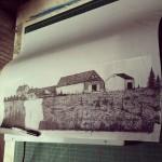 The Long Barn Poster - kris Johnsen 2012