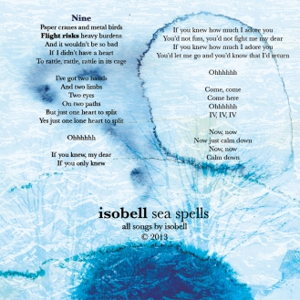 isobell - sea spells - Kris Johnsen 2013