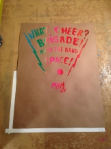 What Cheer? Brigade Poster - Kris Johnsen and Kimberly Convery 2013