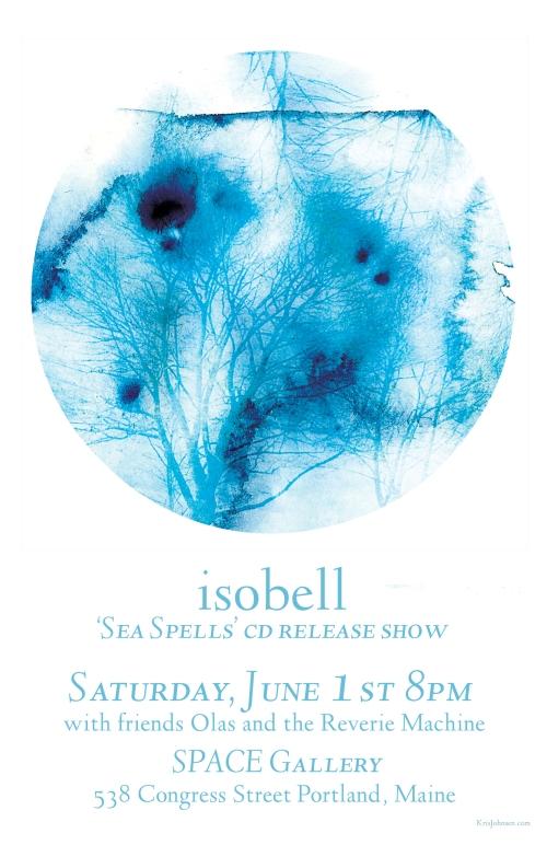 Isobell promo poster - Kris Johnsen 2013