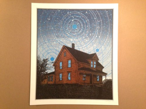 Gather the Believers art print - Kris Johnsen 2014