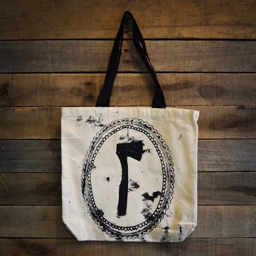Axe Tote Bag - Kris Johnsen 2014