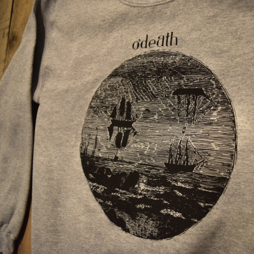 o'death tshirt printing - Kris Johnsen 2015